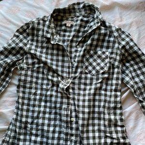 Merona lightweight flannel top